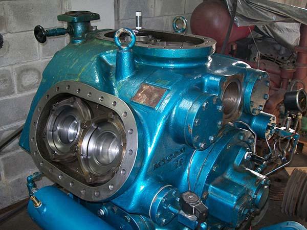 Compressor de refrigeração industrial