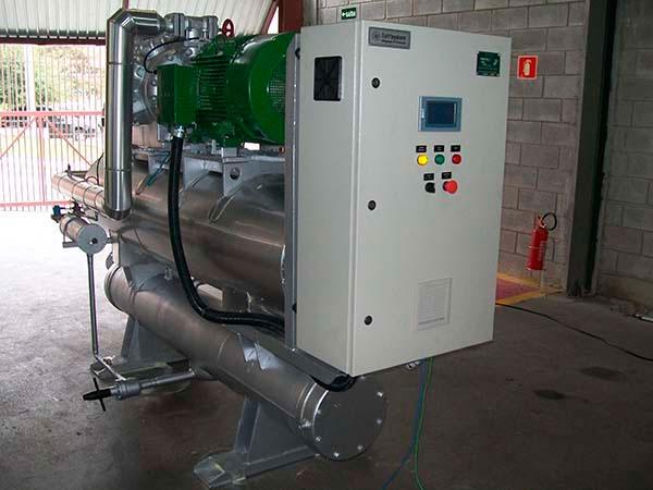 Unidade resfriadora de líquido