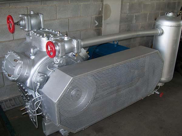 Compressor refrigeração remanufaturado